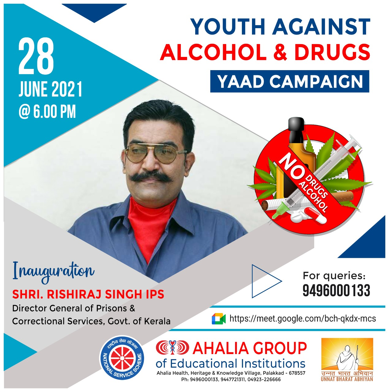 Youth Against Alcohol and Drugs (YAAD) Campaign