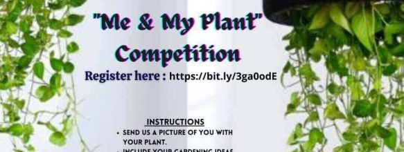 'Me & My Plant' Competition