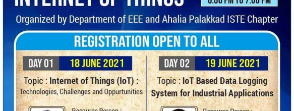 Two-Day Seminar on 'Internet Of Things'