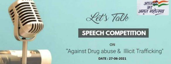 Speech Competition on 'Against Drug Abuse & Illicit Trafficking'