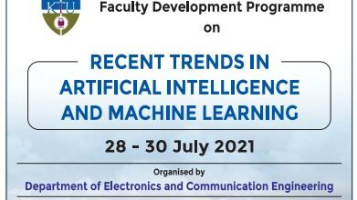 Three Day FDP on 'Recent Trends in Artificial Intelligence and Machine Learning'