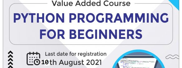 Value Added Course on 'Python Programming for Beginners'