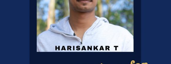 Harisankar T. Placed in TCS