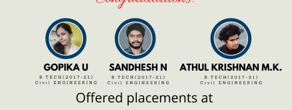 Three Students Placed at Byju's Learning App