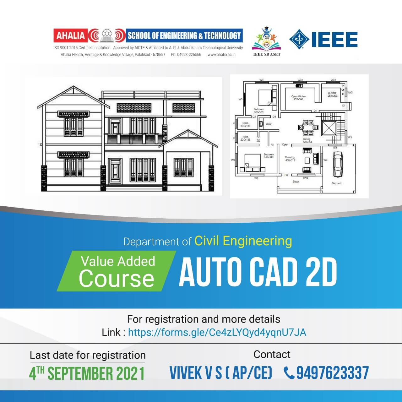 Value Added Course on AUTOCAD 2D
