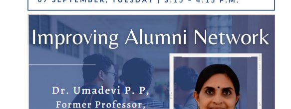 FDP on 'Improving Alumni Network'