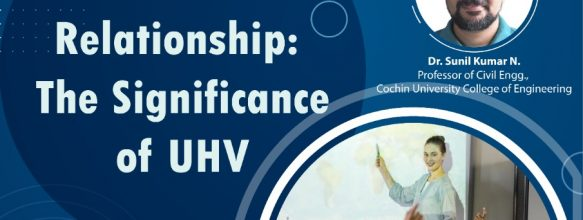 FDP on Student-Teacher Relationship: The Significance of UHV