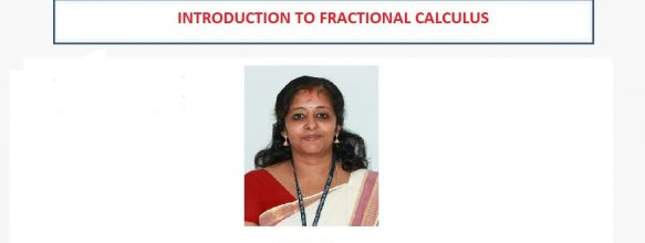 FDP on 'Introduction to Fractional Calculus'