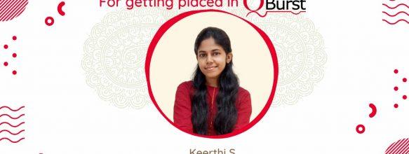 Keerthi S. placed at QBurst