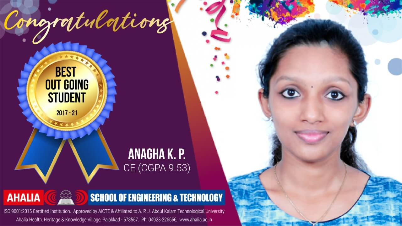 Best Outgoing Student of 2017-21