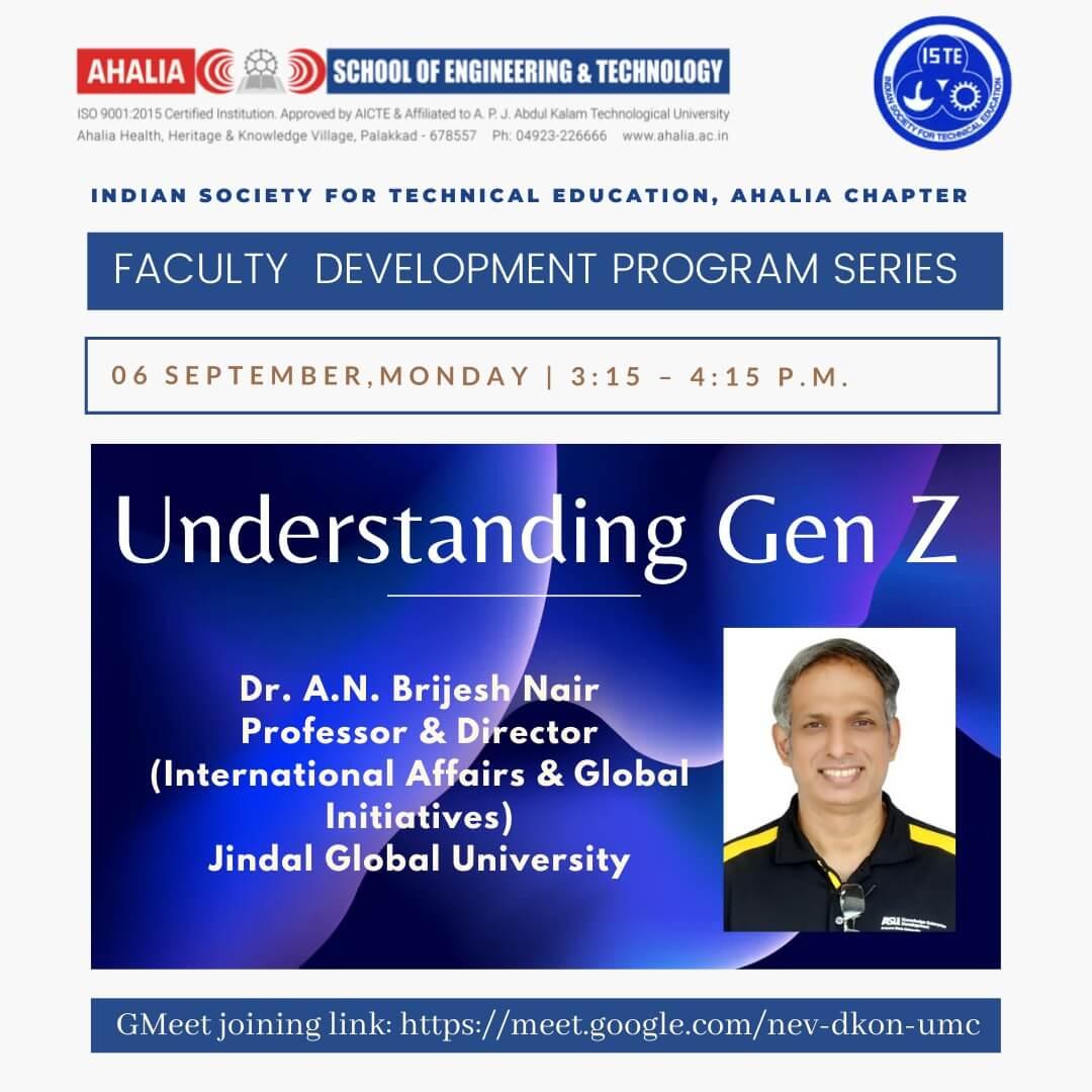 FDP on 'Understanding Gen Z'