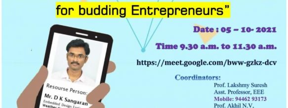 Getting your Mobile App Done – A Session for Budding Entrepreneurs